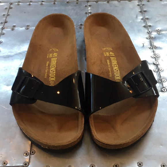 f003be5c218 NWOT black birkenstock sandals 41